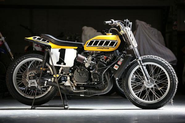 Yamaha TZ750 Dirt : Le King Kenny Roberts