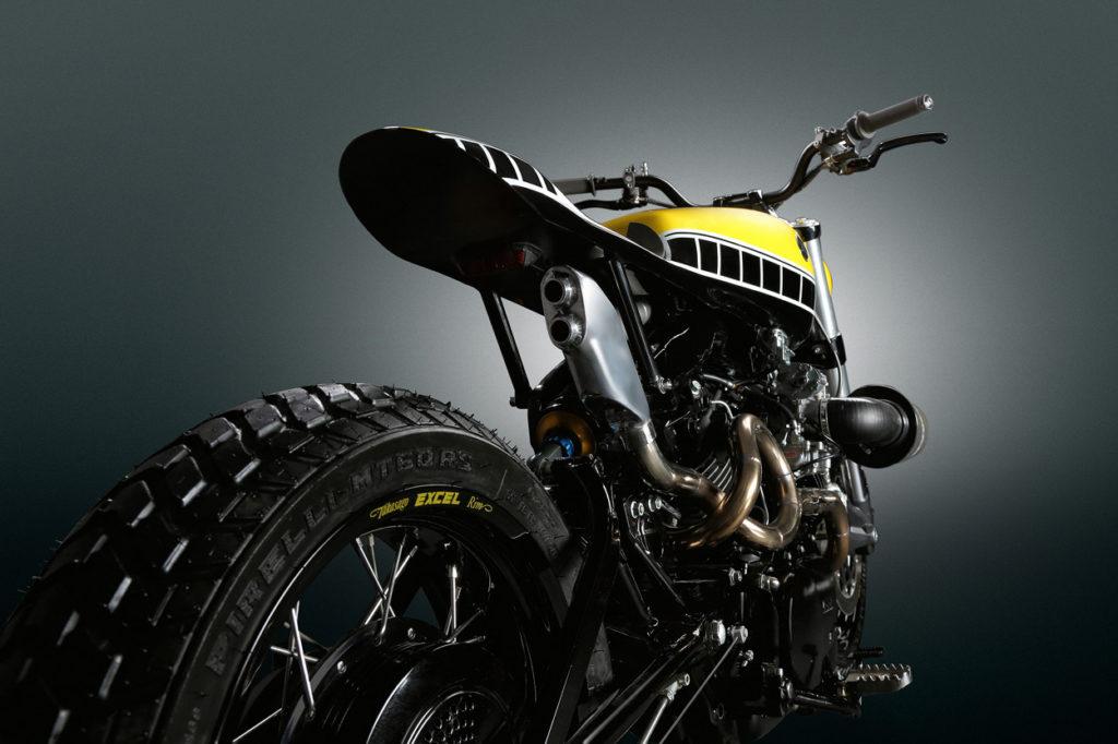 Yamaha XV750 Virago Tracker by Thornton Hundred