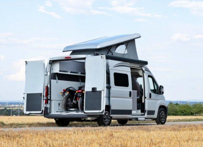 Citroën pense au motards avec ce Van aménagé