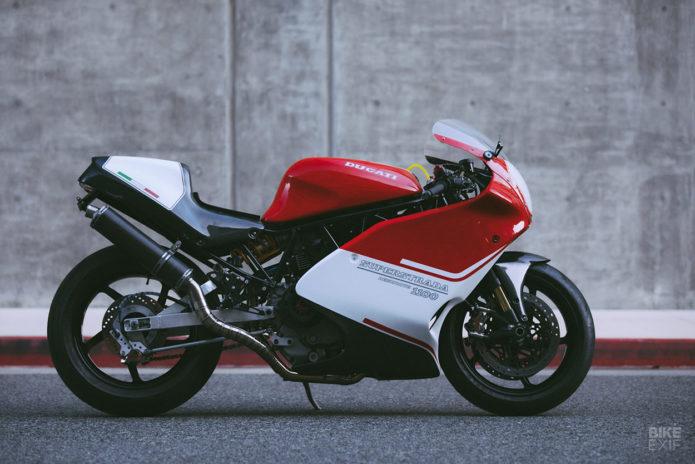 SuperStrada: revisiter la Ducati 900 SS, 25 ans après