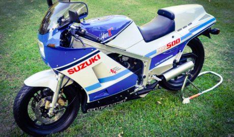 la Suzuki RG500 de collection ultime sauvée du concasseur